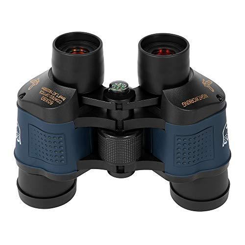 Binocolo HD ad alte prestazioni 60 x 60 binocolo per esterni, visione notturna professionale in condizioni di scarsa illuminazione con telescopio coordinato ad alte prestazioni
