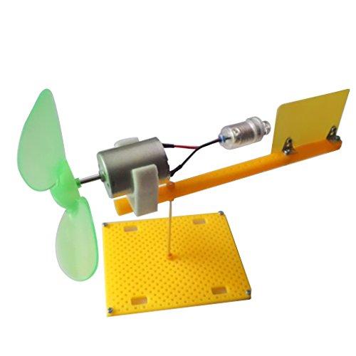 Kesoto Mini éolienne Miniature éolienne modèle Set Kits enseignement Tool_e10