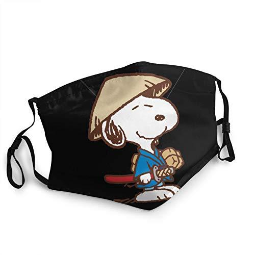 Disfraz de guerrero Snoopy mscaras reutilizables y paos lavables para hombres y mujeres