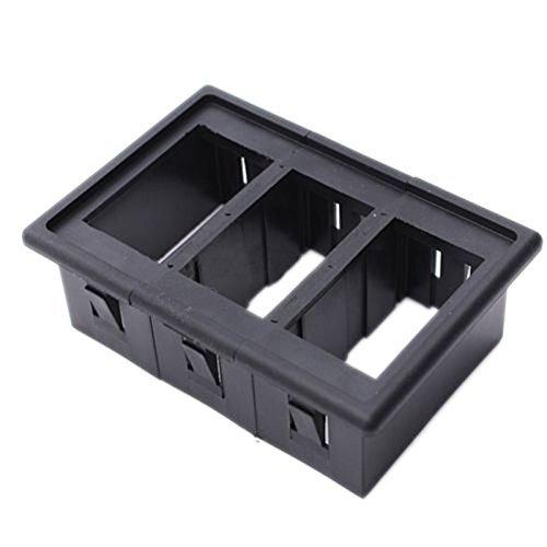 Caja de interruptor - SODIAL(R)Caja de interruptor oscilante patronal de coche y barco para ARB Carling (3 caja de interruptor): Amazon.es: Coche y moto
