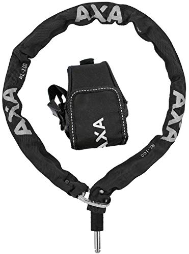 Axa Unisex– Erwachsene RLC 100 FahrradSchloss, schwarz, One-Size