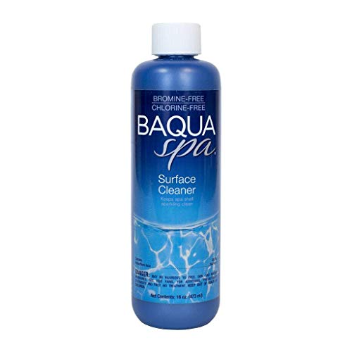 Baqua Spa 88851 Surface Cleaner Spa and Hot Tub Cleanser, 16 oz
