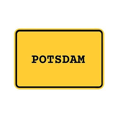 JOllify Aufkleber - Potsdam – Farbe: Design: Ortsschild