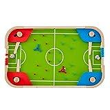 ZHSHZQ Mesa de fútbol, fácil de montar una mesa de madera con el partido de fútbol de fútbol, con cubierta de mesa de fútbol for centros comerciales, salas de juego, bares, fiestas, noches de fami