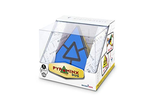 Meffert's-Puzzle Pyraminx Duo, Multicolor (Recent Toys M5071)