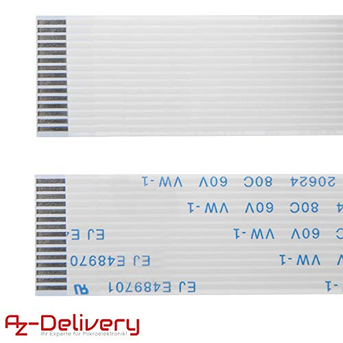 AZDelivery Ersatz Flexkabel 100 cm für Raspberry Pi Kamera/Display (100 cm) inklusive E-Book!