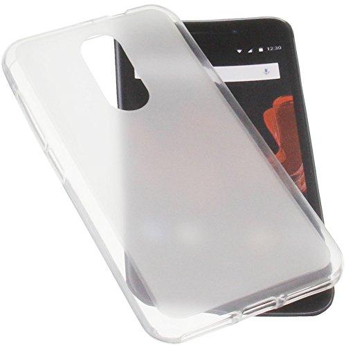 foto-kontor Funda para Wiko WIM Lite Protectora de Goma TPU para móvil Transparente Blanca