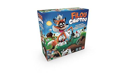 Goliath - Filou Chiptou - Jeux d'enfants - à partir de 4 ans- Jeu de société - Jeu de rapidité