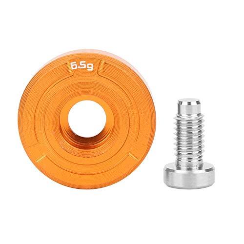 Niunion Peso de Golf, aleación de Aluminio F7 Accesorio de Tornillo de contrapeso de Cabeza de Palo de Golf Resistente al Desgaste Duradero(6.5g)