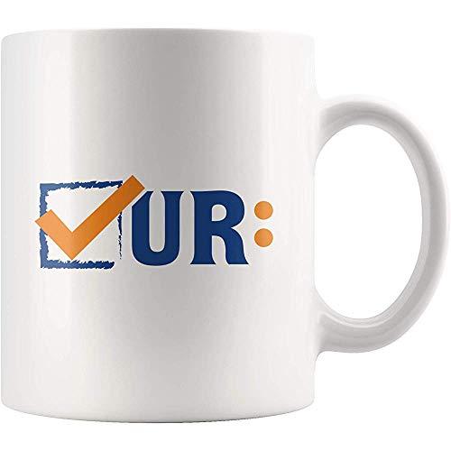 Colon Cancer Awareness Mug Colonoscopies Überprüfen Sie Ur-Neuheit Cup-Darmkrebs Awareness für den Monat März Keramik Geschenk Kaffee Tee Cup Mug-