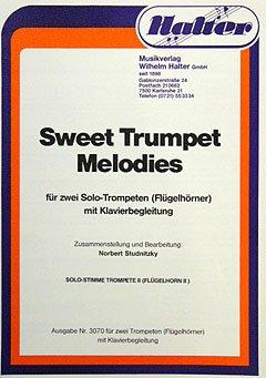 SWEET TRUMPET MELODIES - geregeld voor twee trompetten - Solo [Noten / Sheetmusic]