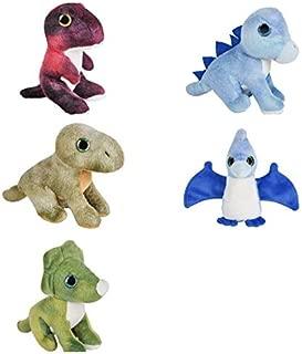 Just4fun Five (5) Adorable Mini Dinosaur 5