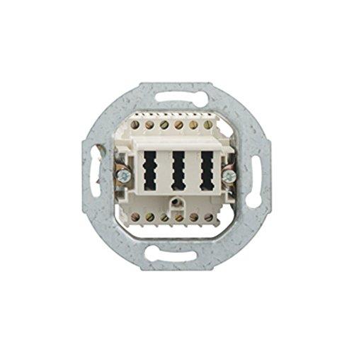 Rutenbeck 10310518 RUTE FM-Anschlussdose TAE 2x6/6 NFF Up 0 rw