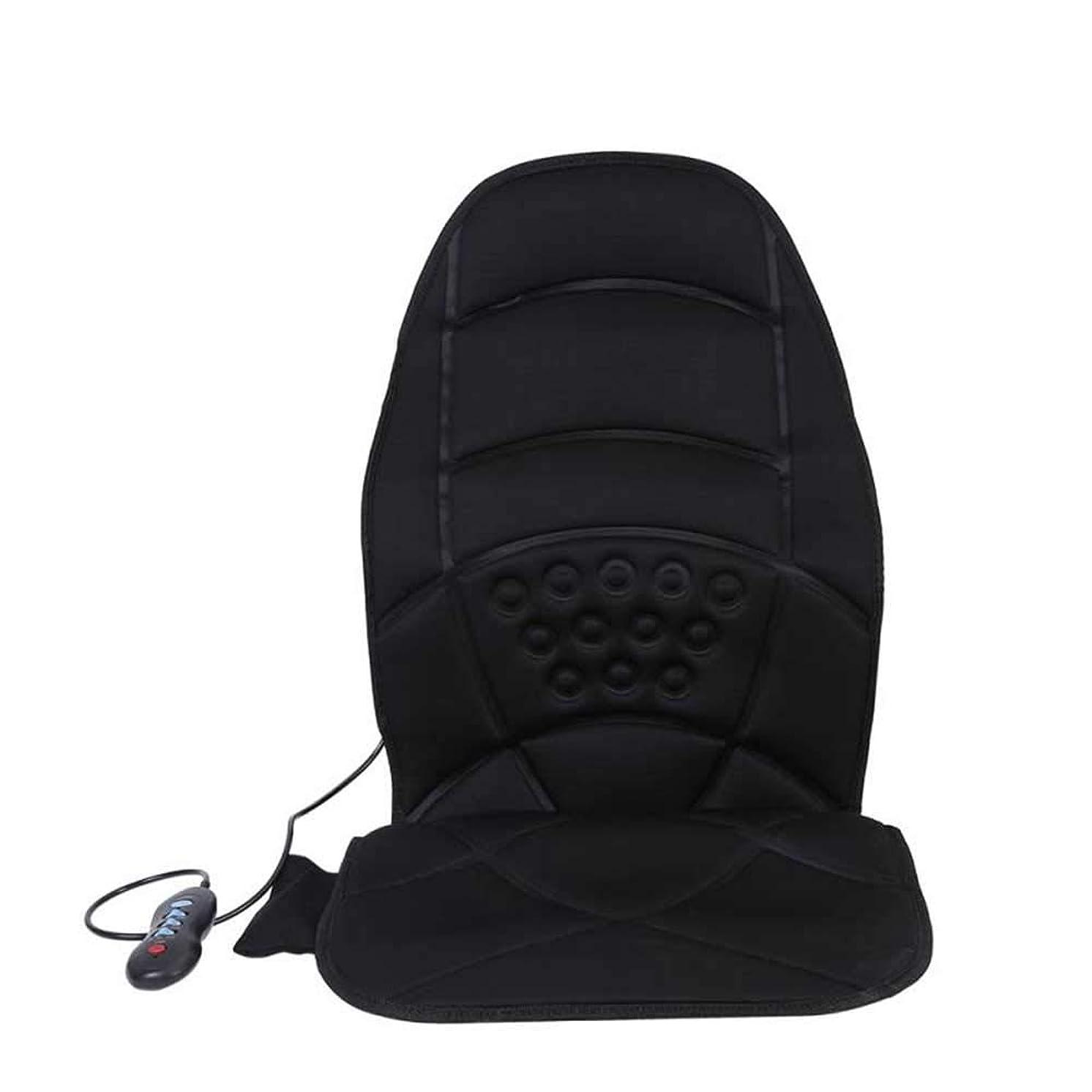 余分なカンガルー難破船加熱した電気自動車バックネック腰椎フルボディマッサージチェアシートクッションパッドウエストの痛みを軽減するシートパッドマッサージマットをリラックス