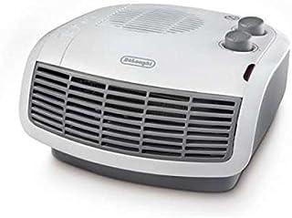DeLonghi HTF 3031 Calefactor con ajustes de termostato, indicadores LED, 2200 W, 220-240V, 50 Hz, Gris y blanco