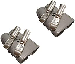 175A Battery Connector for Anderson Gray 175A 600V Plug,Quick-Connector Disconnector Housing 2-Pole (1/0 AWG)
