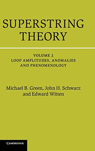 Superstring Theory 2 Volume Hardback Set: Superstring Theory: 25th Anniversary Edition: Volume 2