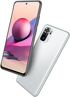 هاتف شاومي ريدمي نوت 10 اس، ثنائي شرائح الاتصال، 64 جيجا، 6 جيجا رام، يدعم شبكة الجيل الرابع ال تي اي، لون ابيض