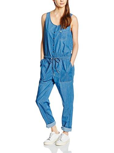 Lee Latzhose Jumpsuit Delft blau L