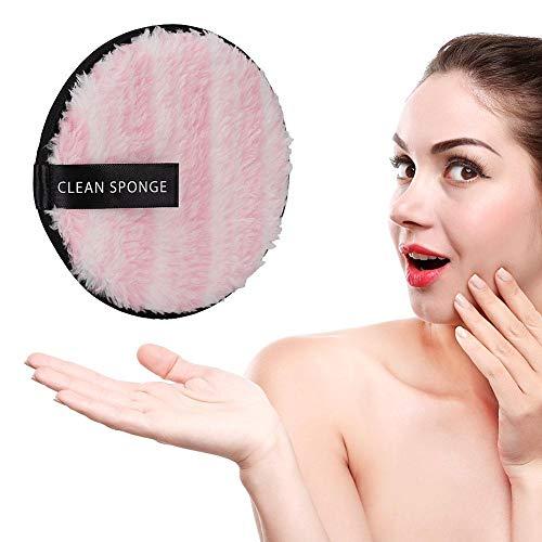 Doppelseitiger, weicher Gesichtsmake-up-Entferner aus Mikrofaser - wiederverwendbares Handtuch zur Gesichtsreinigung(01)