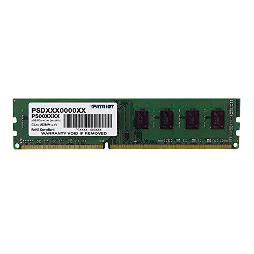 Patriot Memory Serie Signature Memoria RAM DDR3 1600 MHz PC3