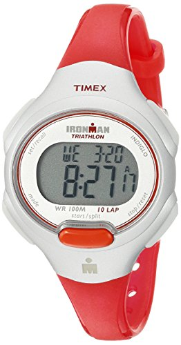 Timex Women's T5K7419J 'Ironman Traditional' Sport Watch with Orange...