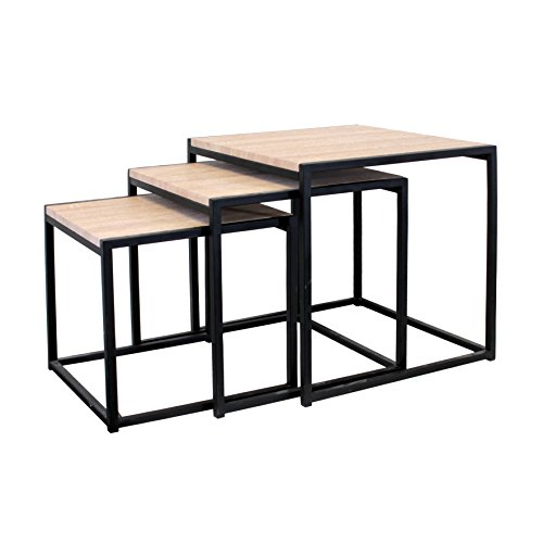 THE HOME DECO FACTORY HD3845 Tables Carrée