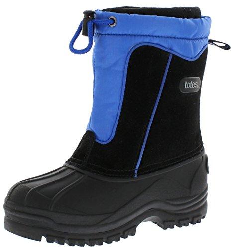 totes Kids' Comfort Snow Boot, Black, 3