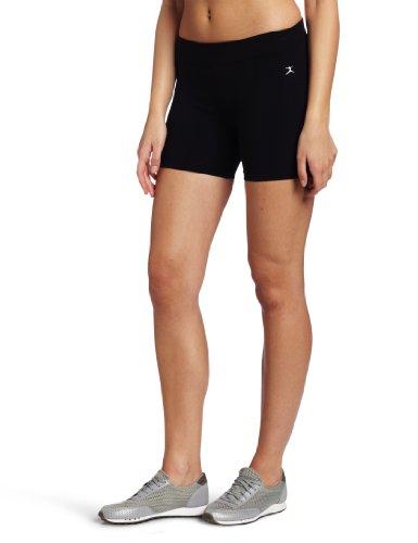 Danskin Women's Five Inch Bike Short, Black, Medium