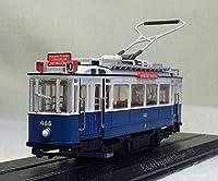1/87 HOゲージ ジオラマ 路面電車 ATLAS 1929-BLAUWE WAGEN 465 SWISS TRAM C037