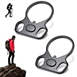 2PCS Adapters Connection Accessories Standard Model Steel Straps Outdoor Sports Tool