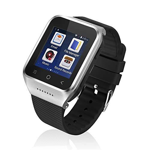 Baodanya Fitness Smartwatch,Globales WiFi-Tracking-System SOS GPS Alter Smart Watch-Mobiltelefon Fitness Armband, Armbanduhr Uhren Uhr Smart Watch Fitness Uhr für Herren Damen