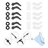 24PCS Mcyye Eyeglasses Ear Grips, Anti Slip Eyeglass Retainer, Premium Silicone Ear Hook, Keep glasses from Slipping Down Your Nose, Simple, Effective Helper for Kids, Adults, Sports, Study & Work