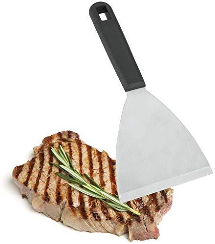 Metaltex - Espátula triangular fuerte para plancha de cocina