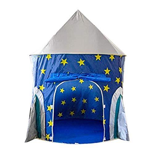 Swiftswan New Tenda per Bambini Stella Spazio Razzo Yurta Toy House Piscina con Palline oceaniche Baby Paradise Regalo Perfetto per Bambini