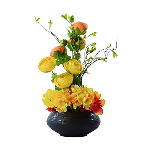 Sztuczne Kwiaty Mieszaj I Łącz Sztuczne Kwiaty Poczuj Się Komfortowo Bonsai Z Kwiatów Jedwabiu Używane W Salonie Biuro I Hotel Fałszywe Kwiaty Bonsai Dekoracje Bukiety