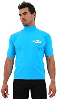 Stingray Australia Plus Size Rash Guard Swim Shirt for Big Men - Large Sizes 3XL to 6XL