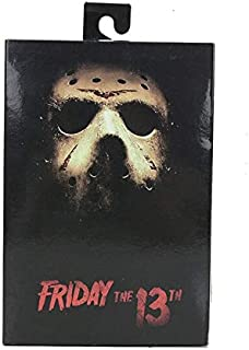 Deluxe Edition Action Figure Ultimate Jason 2009 Remake Jason Voorhees Toy Must Have Tools 7 Year Old Girl Gifts My Favourite Superhero Party Favors UNbox Dolls