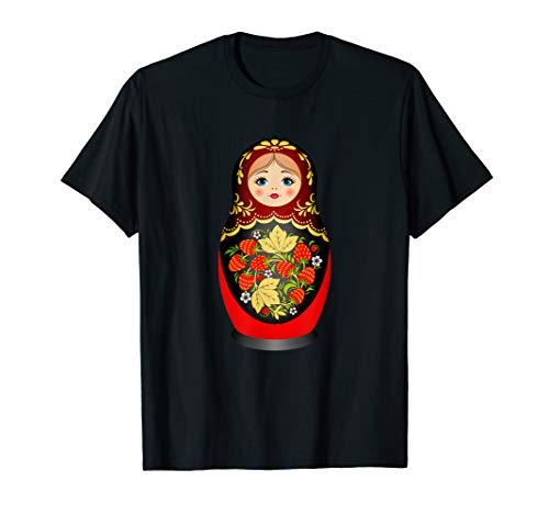 Schönes Matrjoschka Russisches Nist-Puppenhemd