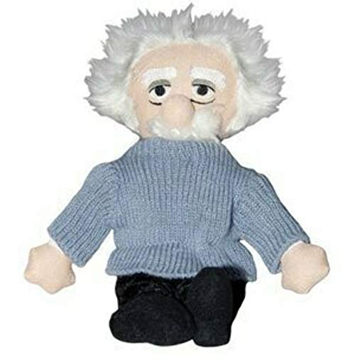 The Unemployed Philosophers Guild Albert Einstein Little Thinker - 11' Plush Doll for Kids and Adults