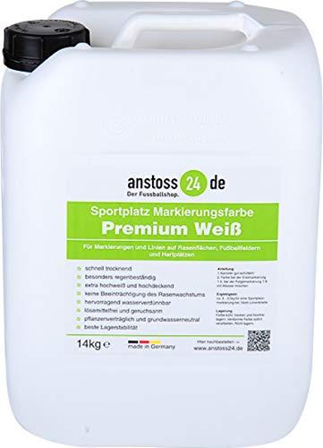 EWFF Sportplatz Linien-Markierungsfarbe Premium - 14 kg