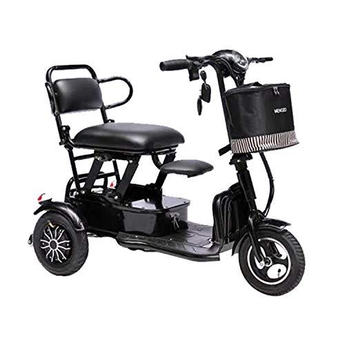 JHKGY Freizeitmobilitätsroller Für Ältere/Behinderte Menschen Im Freien,Zusammenklappbares Tragbares...