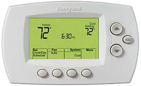 Honeywell Home Wi Fi 7 Day Programmable Thermostat RTH6580WF Requires C Wire Works With Alexa
