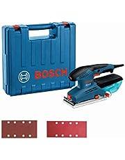 Bosch Professional 601070701 Bosch Professional vlakschuurmachine GSS 23 AE (190 Watt, schuur-Ø: 2 mm, in koffer) 1.0 watts 240.0 volts, blauw