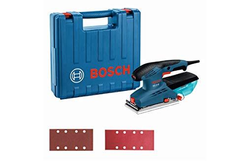 Bosch Professional 601070701 Levigatrice Orbitale GSS 23 AE IK, Diametro di Orbita Ø: 2 mm, in Custodia, 190 W, 240 V, Blu