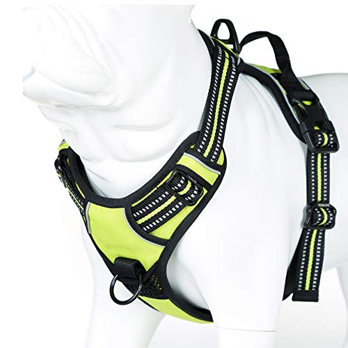 juxzh Truelove Soft Front Reflective Dog Harness
