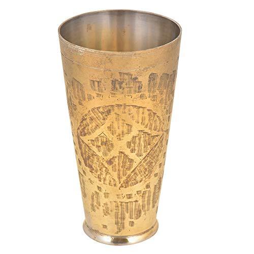 IndianShelf Handmade Golden Milk Tumbler.