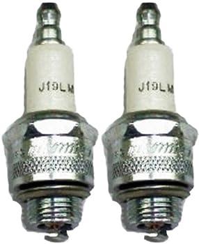 Champion J19LM-2pk Copper Plus Small Engine Spark Plug Stock # 861  2 Pack