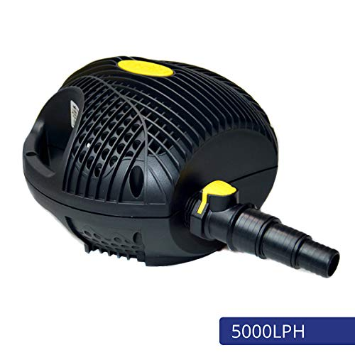 Laguna Max-Flo 1350 Electronic Waterfall and Filter Pump for Ponds Up to 2700-Gallon