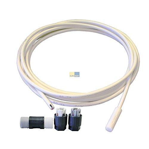 Liebherr 9590142Original Sonda Sensor para Evaporador 4,7kohm Kit Frigorífico con conexión Compartir